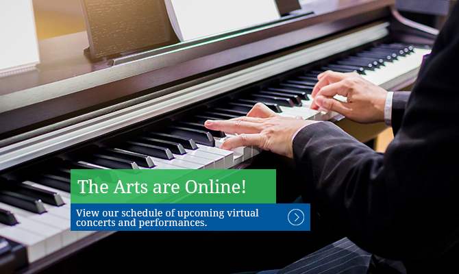 The Arts Are Online!