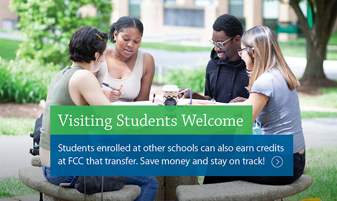 Visiting Students Welcome