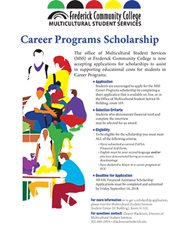 MSS Scholarship Flyer